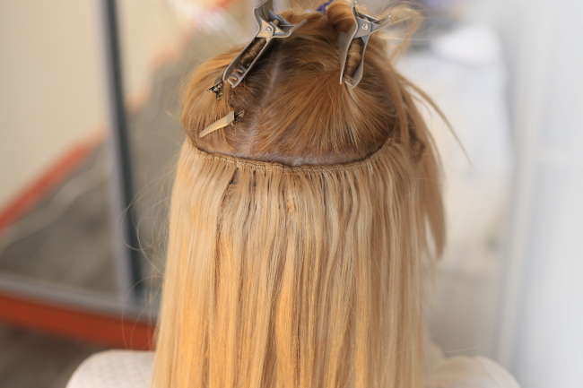 The right types of hair extensions for your hair can be found at our salon in Louisville, KY.