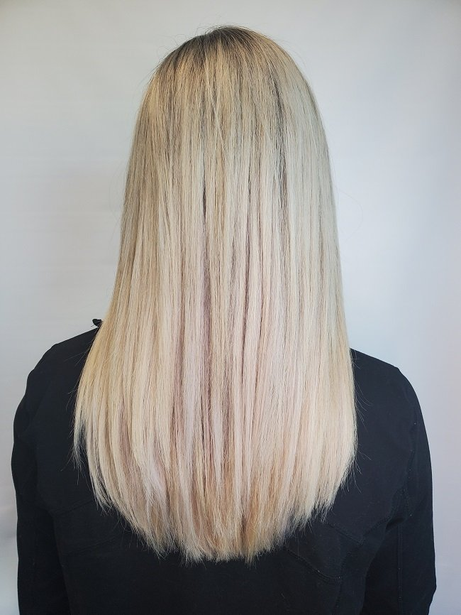 Tape in hair extensions are a less expensive option at our Louisville, KY salon.