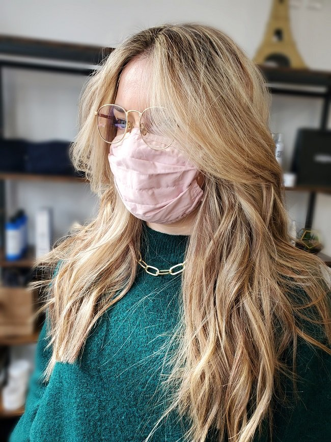 Before starting any hair coloring service, our stylists at our Louisville, KY salon will consider the condition that your hair is in before chemicals are applied.