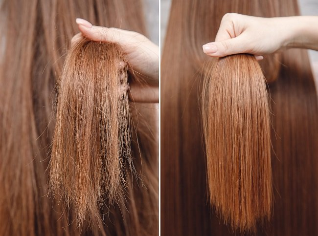 The Brazilian blowout smoothing treatments are highly favored at our salon in Louisville, KY for their protective layer on hair that eliminates all frizz.