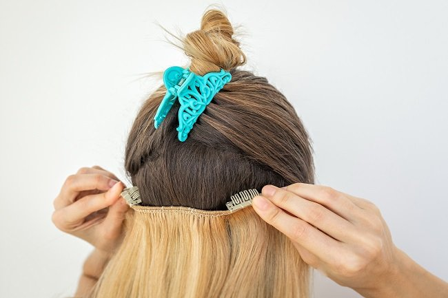 One of the popular types of hair extensions in Louisville, KY are clip ins.
