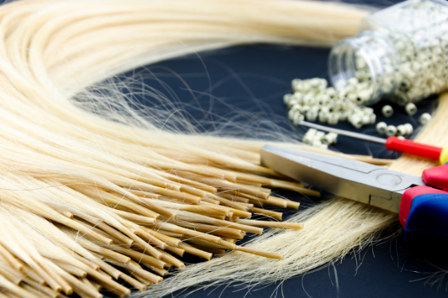 At the salon in Louisville, KY our hair stylists will tell you if you're a candidate for I-tip hair extensions.